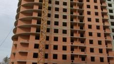В 17 секции ведется строительство 16 этажа