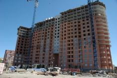 Началось строительство 17 этажа