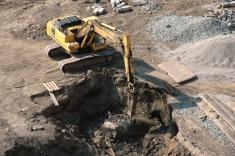 Ведутся работы по строительству подземного паркинга